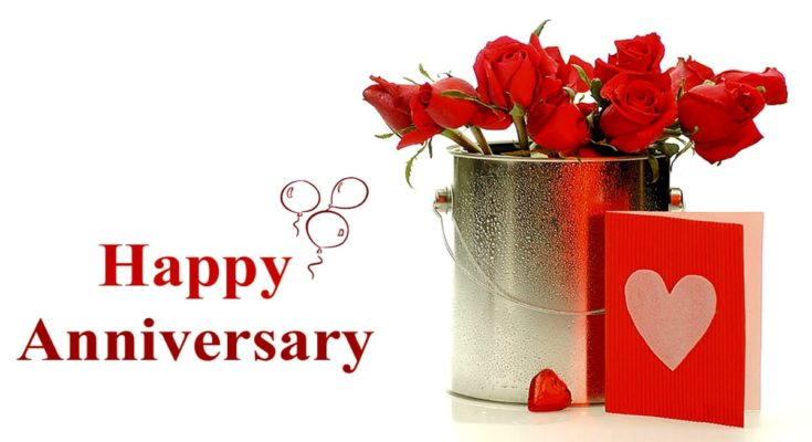 Happy Wedding Anniversary Wishes Images Messages and Quotes